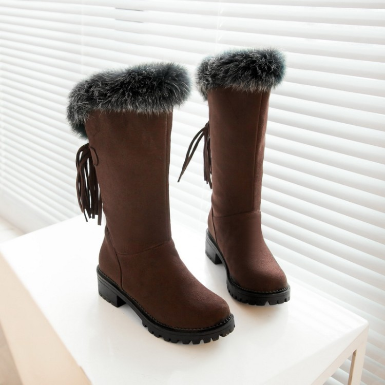 2017 Winter Boots Russia Warm Large Size 30-52 Women Boots High Quality Thick Snow Patent Winter Shoes Woman Middle Boot X-009 2017 female warm snow boots large size 41 cotton winter shoe for woman soft comfortable outdoor footwear high quality