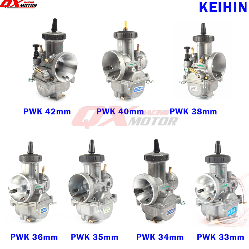 KEIHIN PWK Carburetor 33 34 35 36 38 40 42mm Racing Carb Universal
