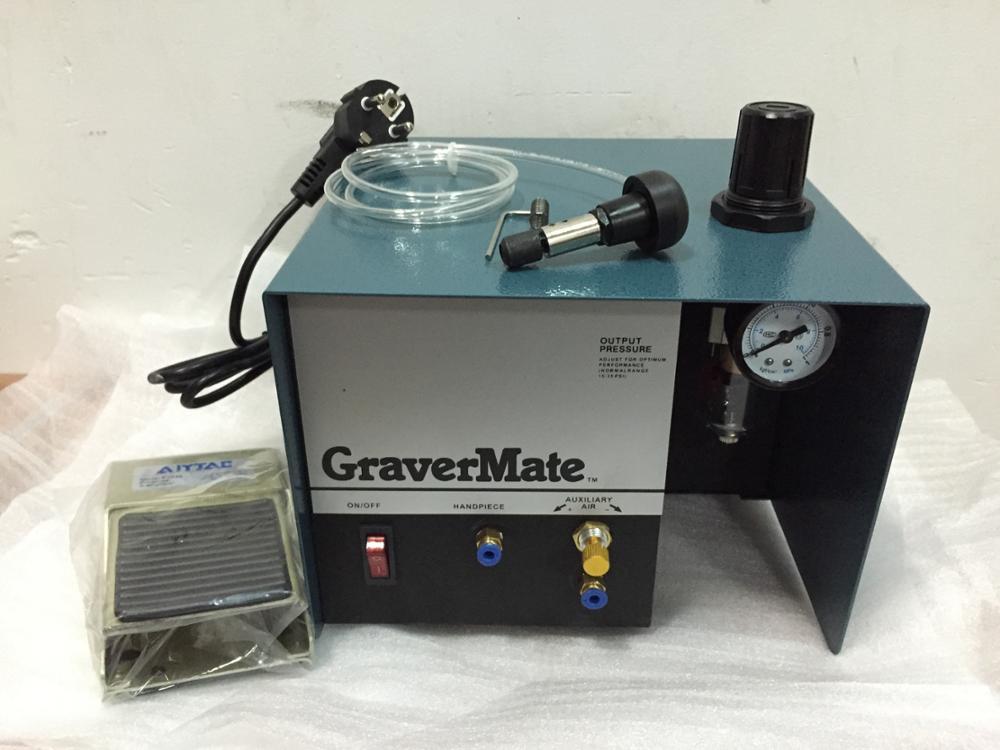 2015 nouveau à 110 V Graver aide, Machine de gravure de bijoux pneumatique unique fin Graver outil, bijoux de matériel de fabrication de bijoux à