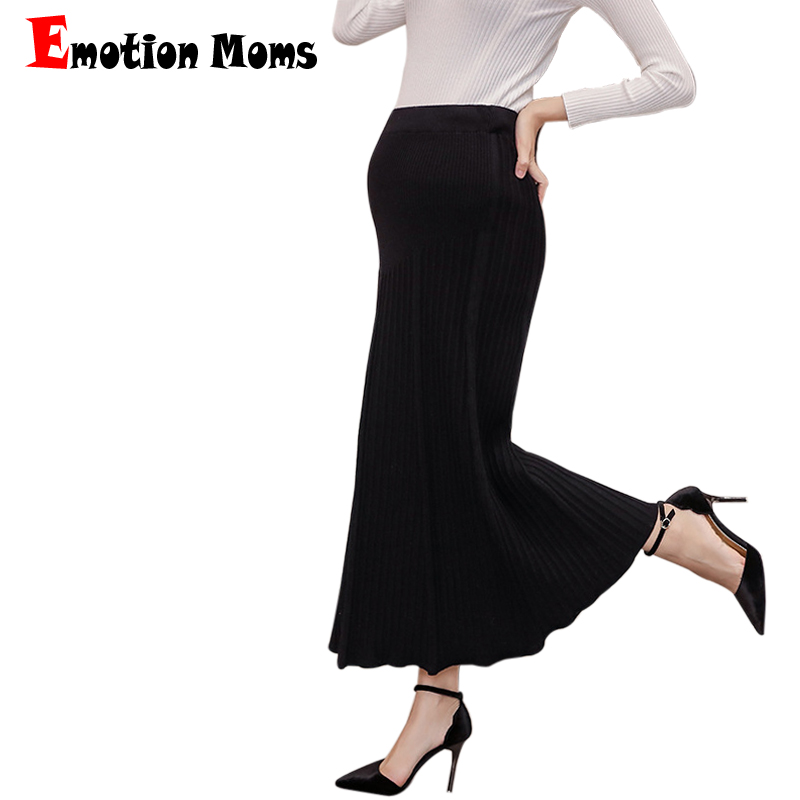 Emotion Moms Fashion Maternity Clothings Dress For Pregnant Women Spring Autumn Maternity Skirts Pregnancy Pants Maternity Dress
