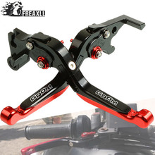 Motorbike Accessories Motorcycle Handlebar Grips Brake Clutch Levers Adjustable Folding Extendable For Honda Grom 2014-2016 2017