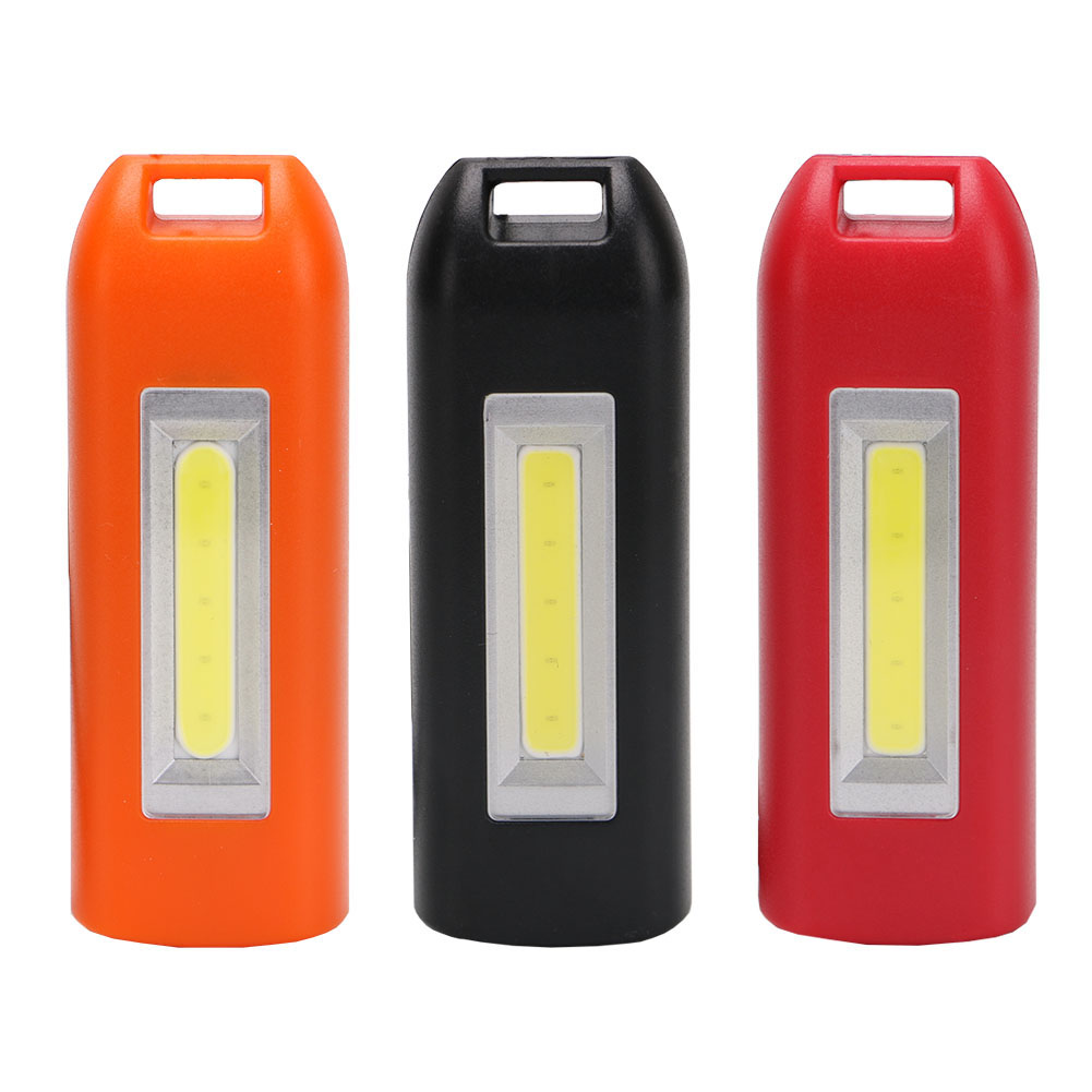 3 Mode USB Rechargeable Mini Work Light COB LED Lamp Keychain Light Emergency Bulb For Reading Camping --M25