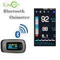 Bluetooth oximeter Fingerip pulse meter SPO2 oximetro pulse oximeter support android IOS portable ce pulse oximeter home monitor