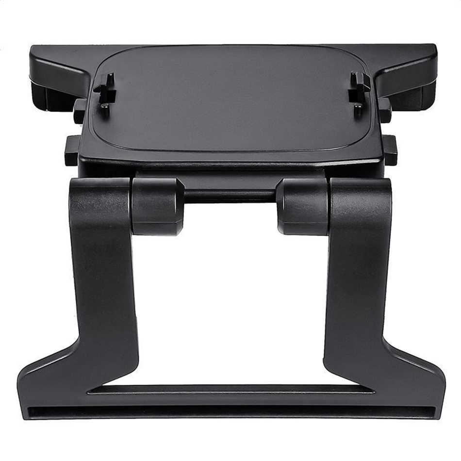 1 قطعة البلاستيك الأسود مشبك التلفزيون المشبك جبل التلفزيون تصاعد حامل حامل 11.8 سنتيمتر * 9 سنتيمتر * 2 سنتيمتر حامل التلفزيون صالح ل X 360 مستشعر حركي