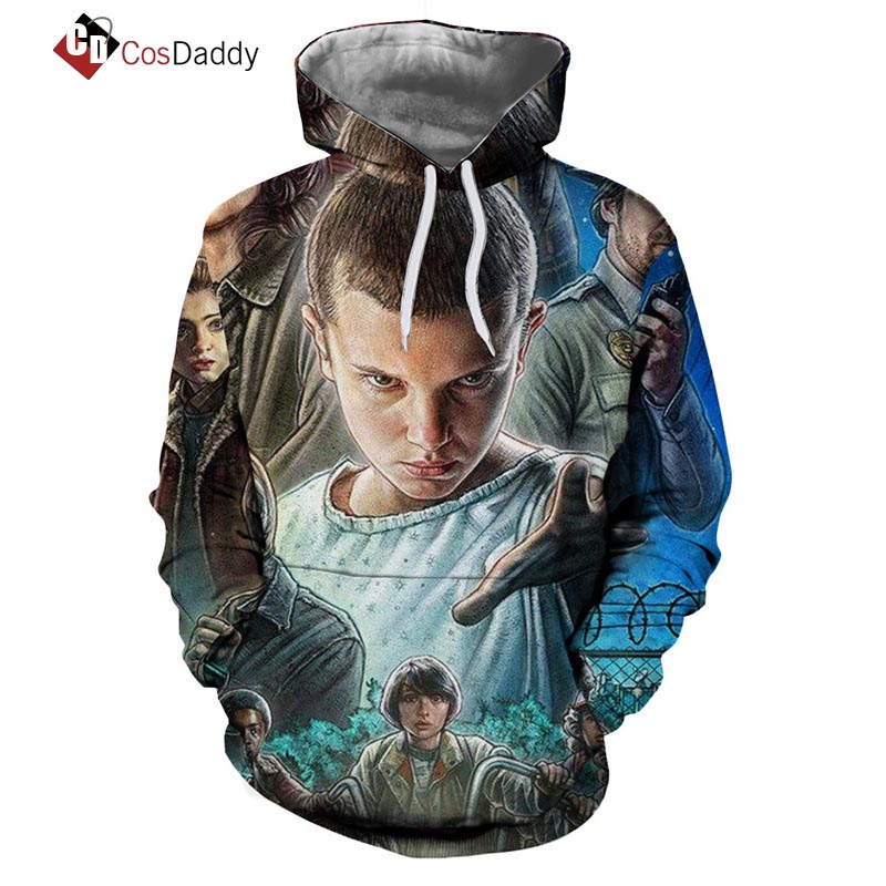 Stranger things Cosplay Costume Coat Jacket Sweater Hoodies CosDaddy
