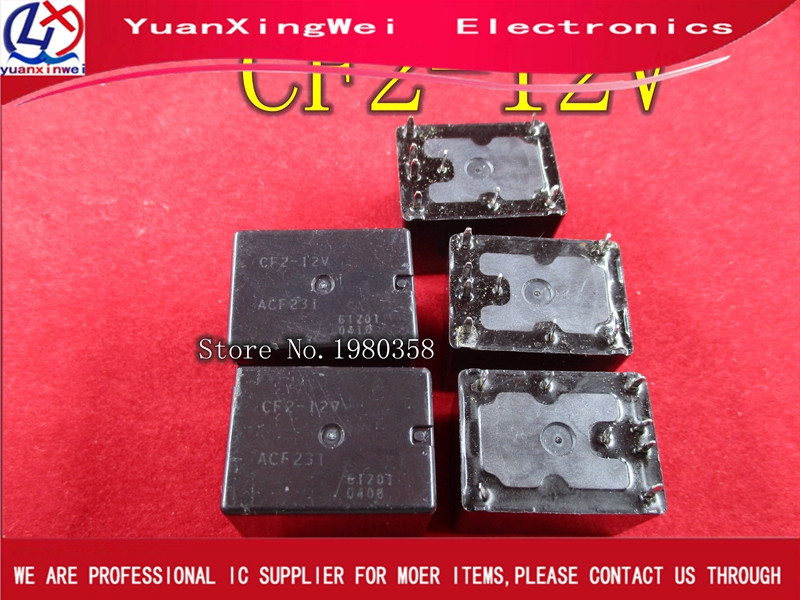 5PCS Free shipping CF2 12V ACF231 100 in stock TWIN POWER AUTOMOTIVE RELAY