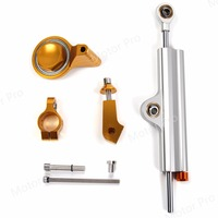 For Yamaha YZF R6 2006 2012 Steering Damper Stabilizer Safety Control Kits Motorcycle YZF R6 2007 2008 2009 2010 2011 SILVER