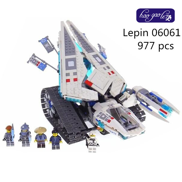 Lepin 06061 977PCS Building Blocks Bricks movie series The ice tank Educational Toys for Children gifts babt toys 70616 lepin 06051 ninjagoes 592pcs movie series flying mecha dragon building blocks bricks baby toys children gift model gifts 70612