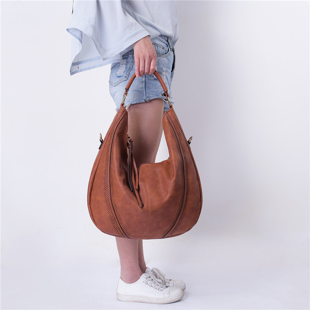 Large Casual Tote Tassel Handbag