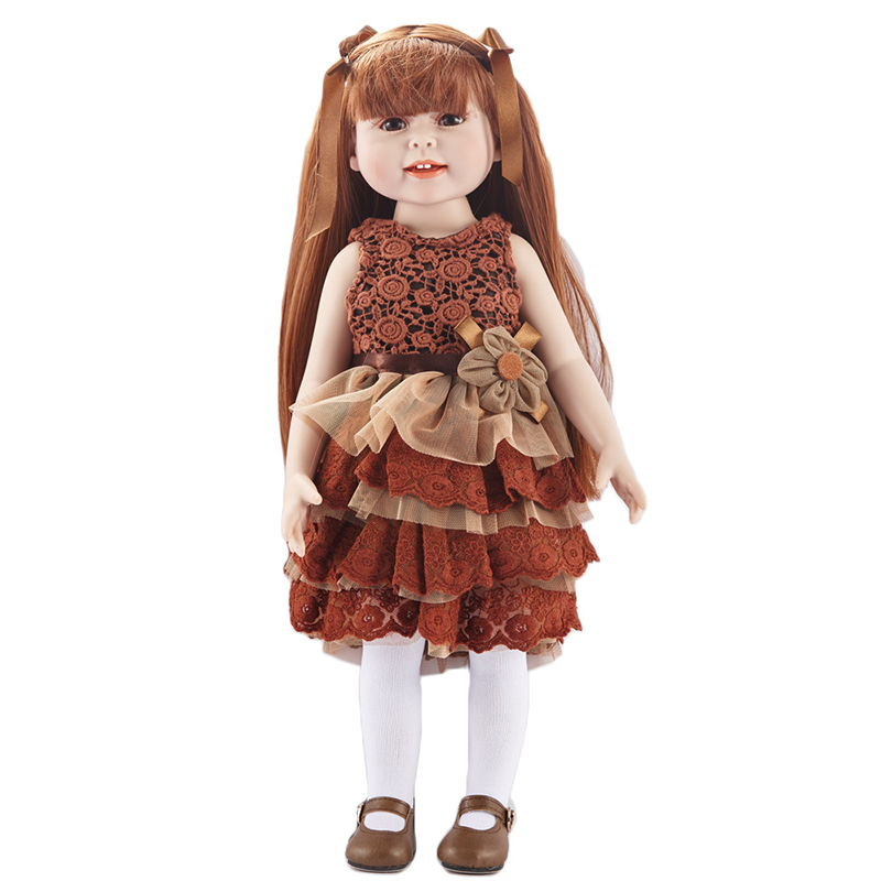 New Silicone Vinyl Doll Reborn Babies 43cm Dolls for America Girl Toys  Lifelike Newborn Baby Bonecas Best Gift For Kids Child new 35cm silicone vinyl doll reborn baby dolls girl toys soft body lifelike newborn babies bonecas toy best gift for kid child