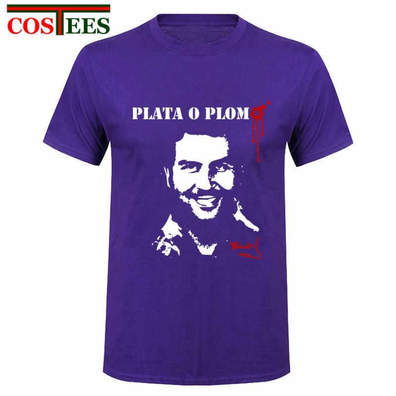 Camiseta divertida de Paul Escobar para hombre, camiseta de gran arte, personalizada, de manga corta, Hip Hop, tráfico de drogas, camiseta para hombre, camisetas notorious blow