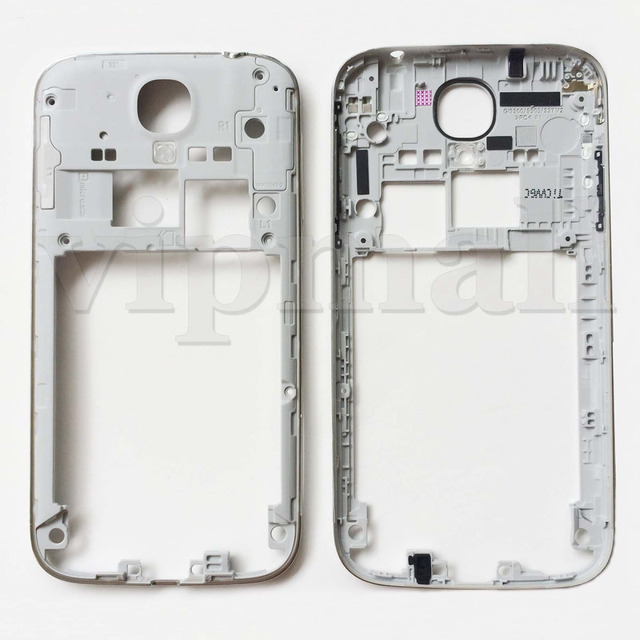 Silver Middle Frame Housing Case Replacement Part Bezel For Samsung ...