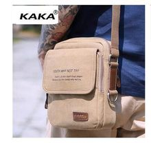 Brand KAKA  Men's Messenger bag Camvas Vintage Bolsas Male crossbody bags  brand famous Shoulder Bag Men Day Pack handbag