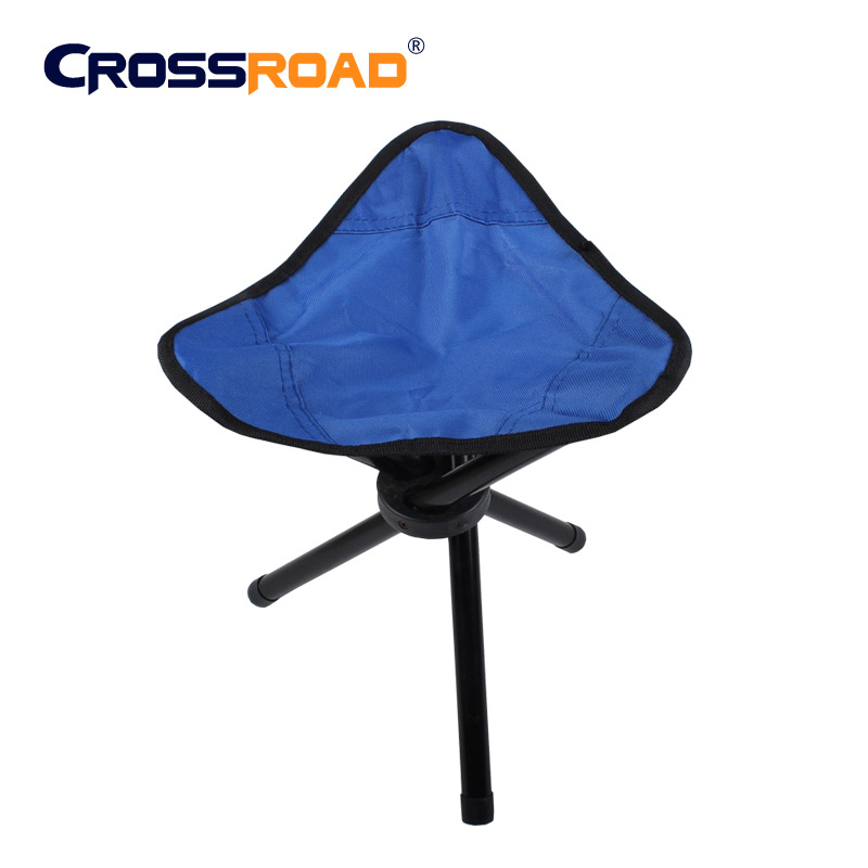 Outdoor furniture beach chair portable lightweight Camping fishing folding  barbecue metal stool tripod three feet chair seat outdoor traveling camping tripod folding stool chair foldable fishing chairs portable fishing mate fold metal chair