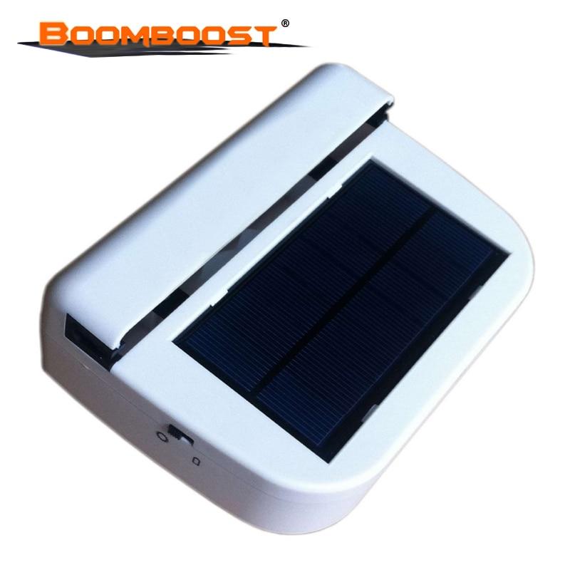 new Portable Solar Sun Power Car Auto Air Vent Cool Fan Cooler Ventilation System