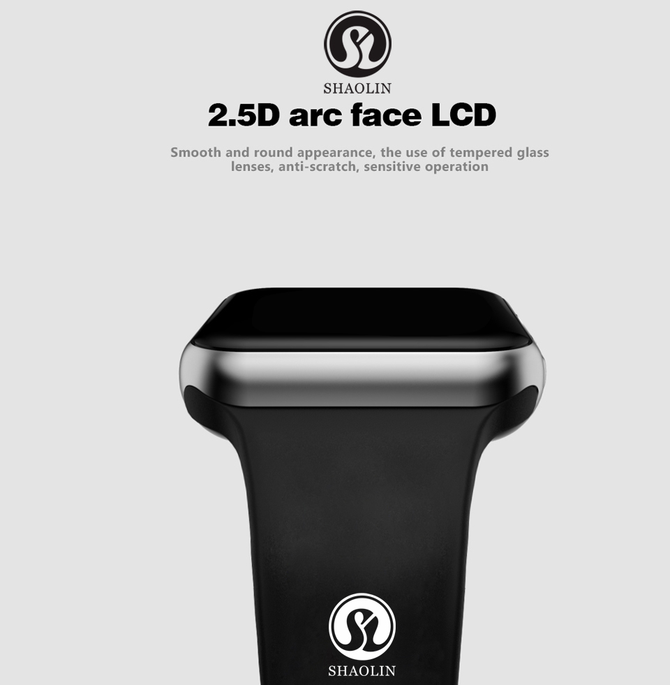SHAOLIN Bluetooth Smart Watch Heart Rate Monitor Smartwatch Wearable Devices for apple watch iPhone IOS and Android Smartphones-04