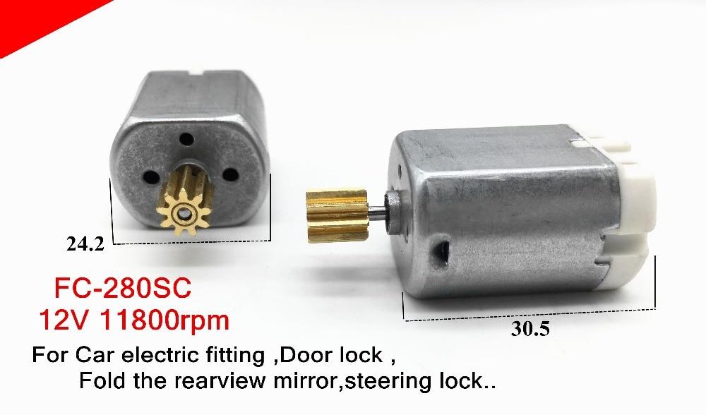 5pcs Micro Dc Motor Fc 280sc Car Electric Fitting Door