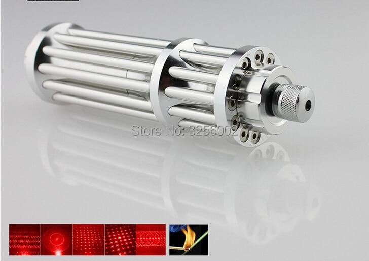 2018 Dernière Vert Rouge Laser pointeur 1000 mw 1 w 532nm Haute puissance Lazer Lampe De Poche Se Concentrer allumette Brûlante, Brûler lumière cigares