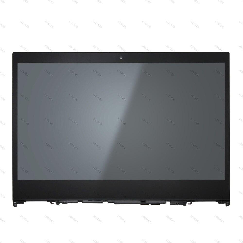 14 ''Tactile En Verre Digitizer Panneau + LCD Écran Remplacement de L'assemblée Pour Lenovo Flex 5-1470 80XA IPS 1920x1080 2-en-1 Ordinateur Portable