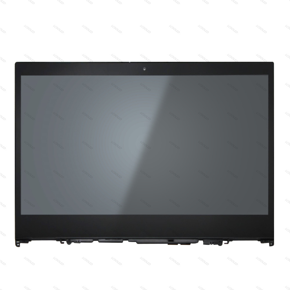 14'' Touch Glass Digitizer Panel+LCD Display Screen Assembly Replacement For Lenovo Flex 5-1470 80XA IPS 1920x1080 2-in-1 Laptop 15 6 laptop led lcd screen display matrix with touch digitizer glass panel assembly b156xtt01 0 for lenovo flex 15 15d 20309