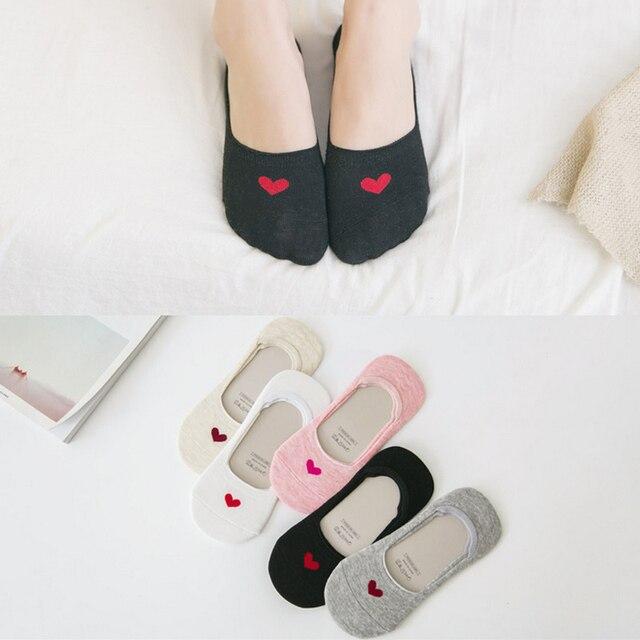 New – 5 Pairs (1 Lot) Of Womens' Cotton Socks