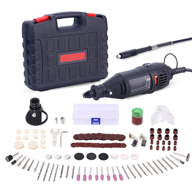 130pcs 130W 220V Power Tools Electric Mini Drill Rotary Grinder Polishing Grinding Head Tool Set EU Plug Electric mill set цены