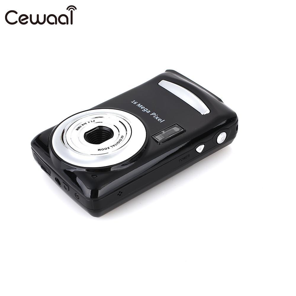 Cewaal Black Ultra Photo Camera 16MP Ultra-clear HD Digital Camera DVR 1080P Mini HD Camera Precise Video Recorder Camera DVR 8