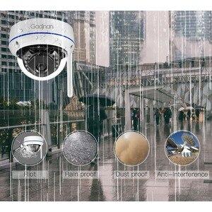 Image 3 - Gadinan WiFi Camera Wireless IP Camera 2MP 1080P 1MP Dome Night Vision Vandalproof Audio Record Max 128G TF Card Slot Yoosee