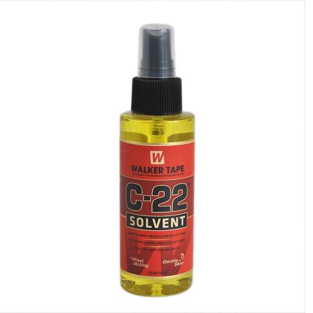 Растворитель для волос 4FL.OZ(118 мл), средство для удаления клея для кружевных париков и париков для прочной двухсторонней ленты и мягких узоров парика, средство для удаления клея