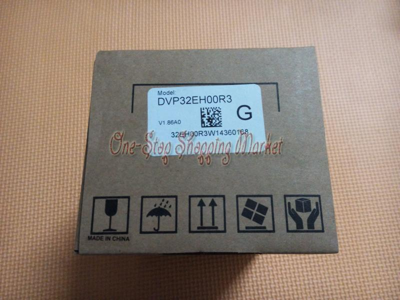 Original Series PLC Module 20 point DI 16 DO 16 Relay output AC power DVP32EH00R3 100-240VAC