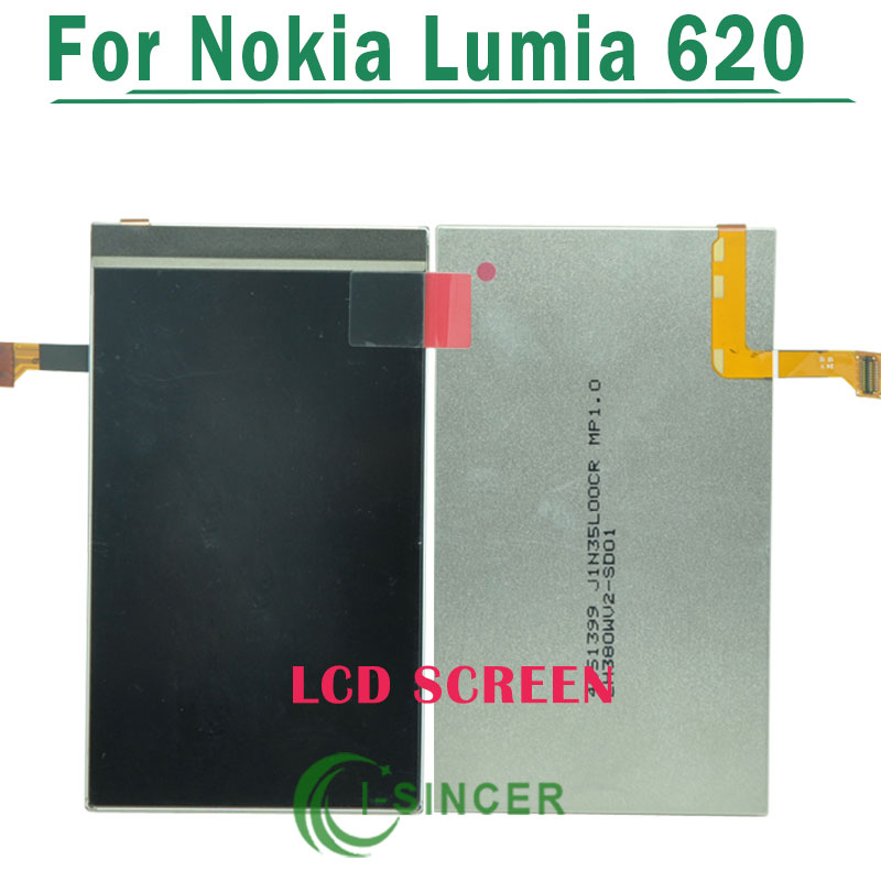 1/PCS Replacement lcd display For Nokia Lumia 620 LCD Screen Free Shipping