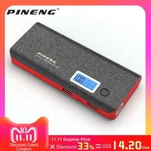 Original PINENG 10000mAh Power Bank PN 968 External Battery Pack Powerbank 968 Dual USB Output With