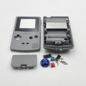Image 4 - White & Grey For Nintendo GBC GameBoy Color Replacement Housing / Shell Case Cover Skin