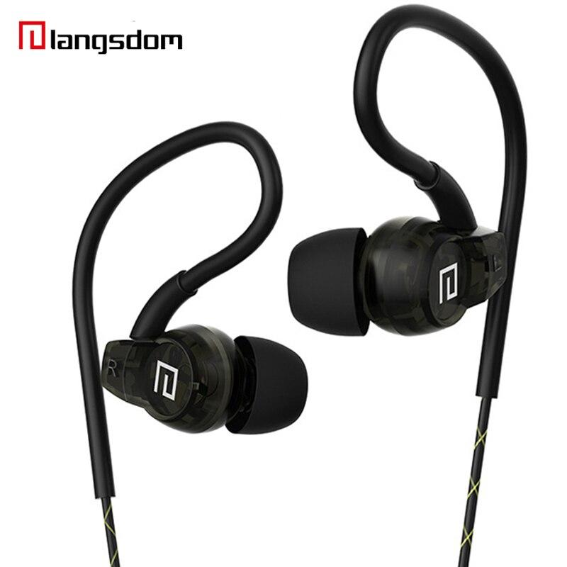 Sport Headphones Waterproof Earphone Ear Hook Headset with Microphone 3.5mm Cellphone Earbuds for Running Headphone for Xiaomi