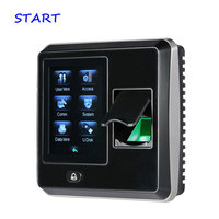 TCP/IP Fingerprint Time Attendance And Access Control ZK SF300 Color Screen Linux System Door Access Control System