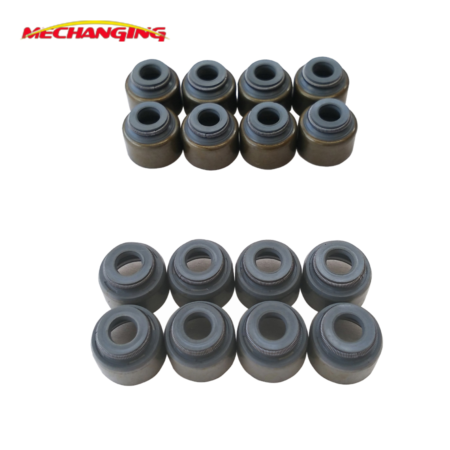 US $11 4 5% OFF|4G93 GDI B4184M Valve Stem Oil Seal 16pcs Engine Parts  Engine Gasket For MITSUBISHI SPACE STAR (DG_A) 1 8 GDI (DG5A) MD184303-in