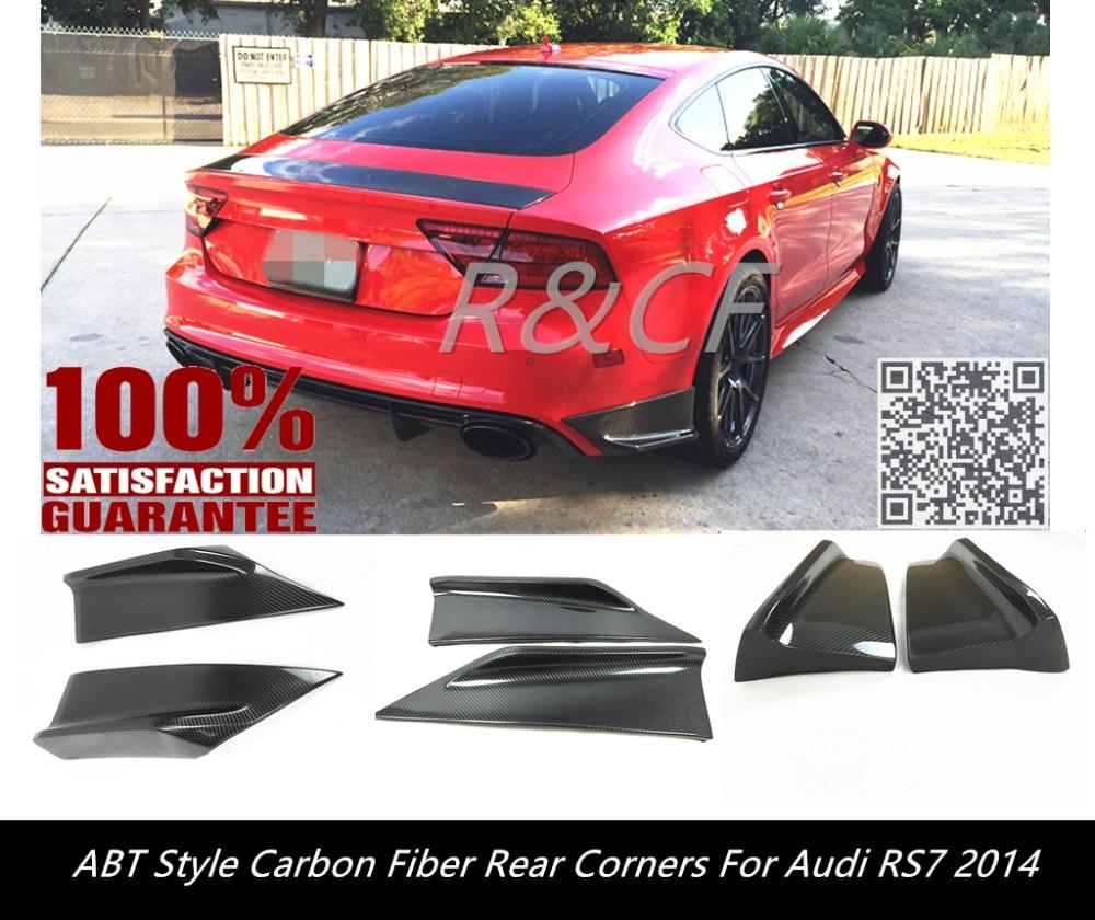 Aliexpress.com : Buy A7 RS7 REAR BUMPER CORNER ABT STYLE