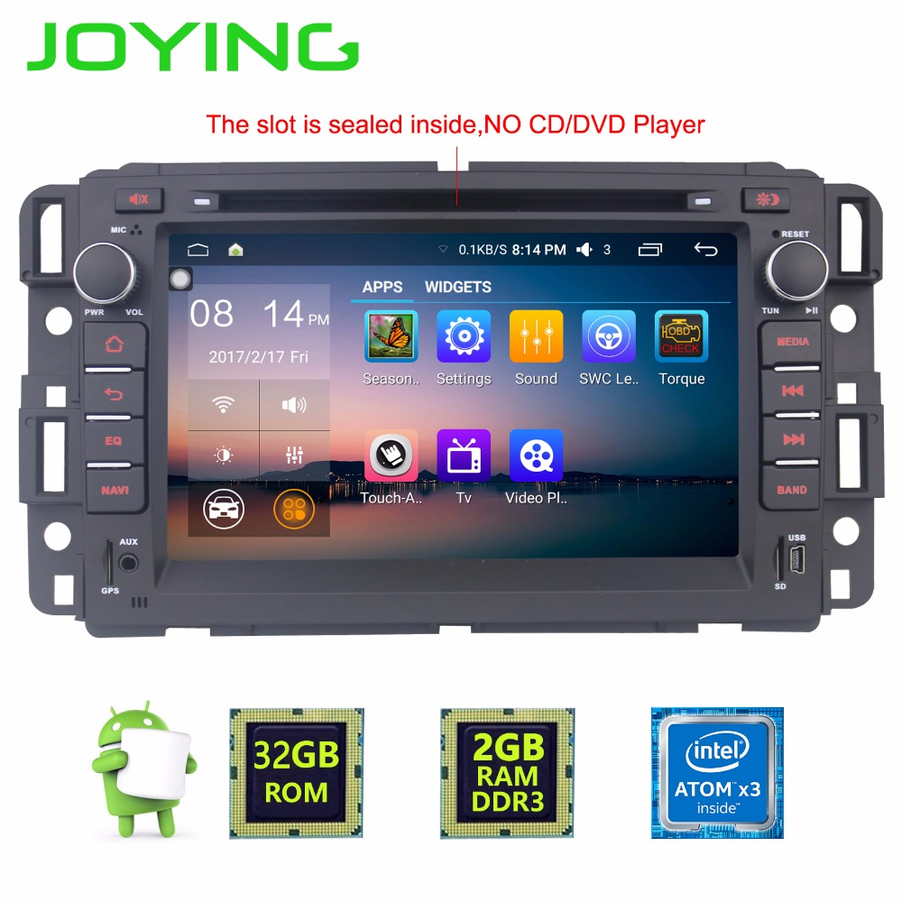 Joying 7 2gb 32gb android 6 0 car stereo autoradio gps navigation for chevrolet traverse