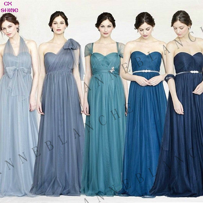 Cheap Custom made! 2015 NEW A multi-purpose style long bridesmaid dresses Multicolor wedding dress, Prom Dress party dress women