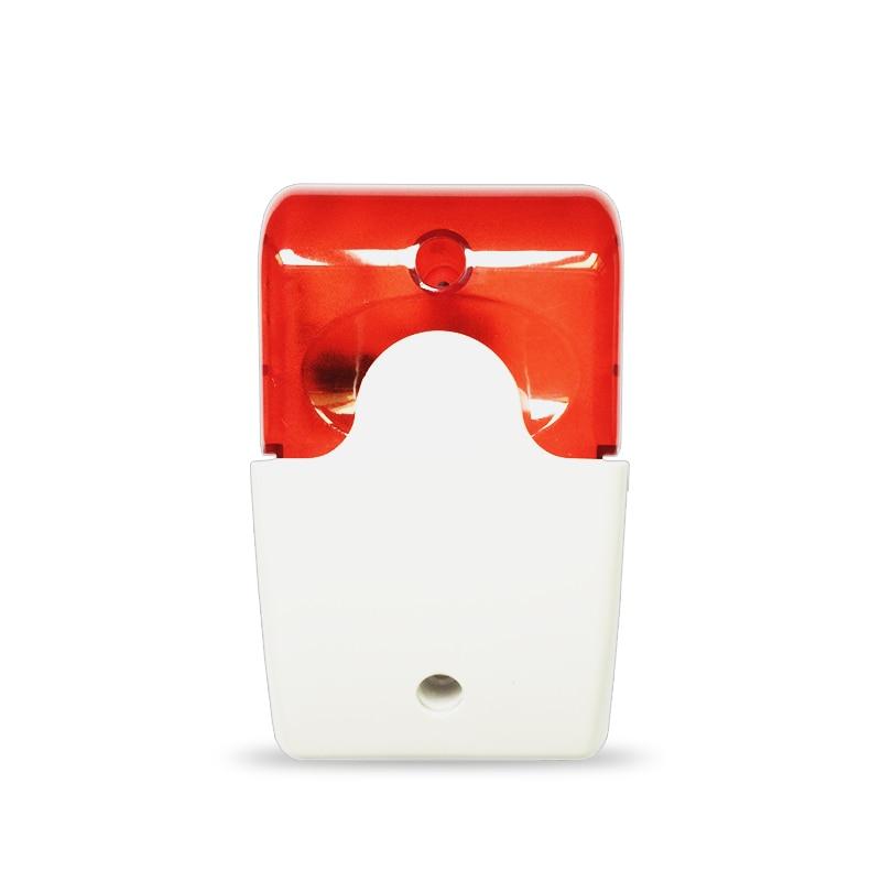 Touch keypad Display home alarm system pstn gsm alarm Security System Smart home Intruder Burglar Alarm for Fire alarm system - 3