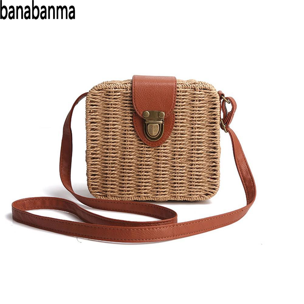 Banabanma Handbag Women Bags Designer-Bags Single-Shoulder Girl Fashion Box for Boxes