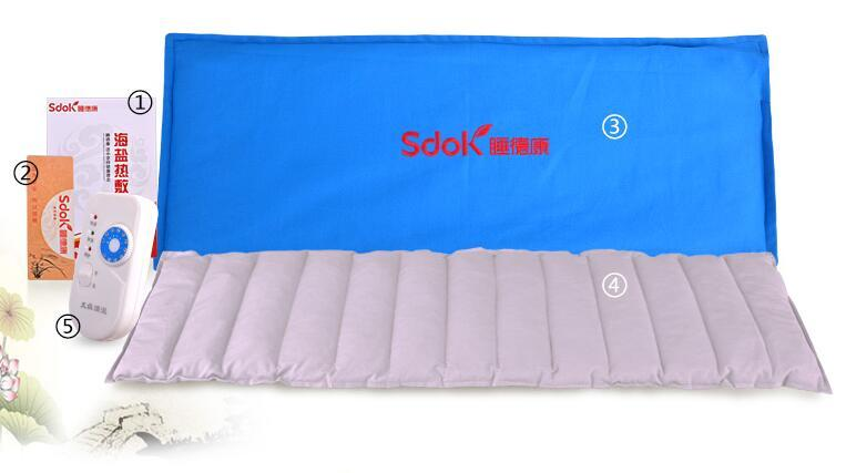 65*23cm heat bags salt moxa herb packet Electric heating moxibustion massage pack cervical knee therapy