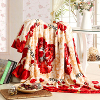 180X200CM Micro Plush Fleece Blanket Bed Throw TV Blanket Fuzzy Microfiber All Season Blanket For Bed