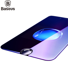 Baseus scratch proof Tempered Glass For iPhone 6 ultra-thin 0.23MM Anti Blue Screen Protector For iPhone 6s Plus Full Cover Film