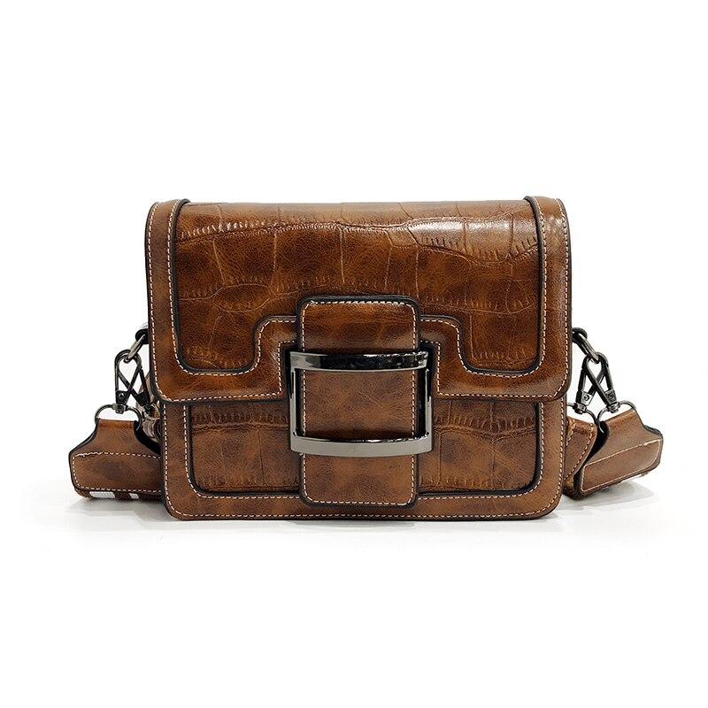 2c32460c5d Small bag 201 new tide Korean fashion handbags simple atmosphere wild  shoulder bag Messenger bag wide shoulder bag.