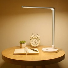 Table Light USB Rechargeable 36 LEDs 6W LED Table Lamp Stepless Dimmable Foldable Desk Lamp Touch Control Reading Desk Light