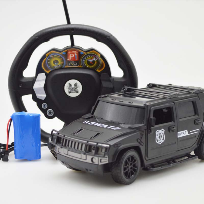 Four-Way Electric Mini RC Cars Remote Control Toy Radio Car Model Toys For Hummer Kids 1:18