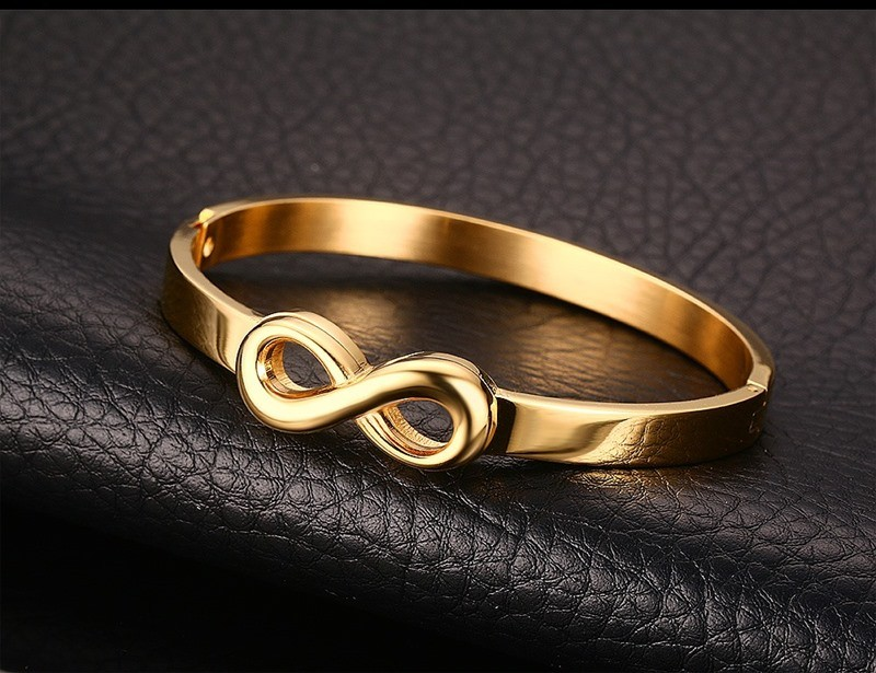 Infinity Bracelets Bangle for Women