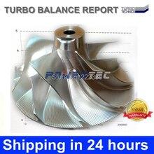 Garrett turbocharger billet wheel GT2260V 753392-0018 753392 turbo billet compressor wheel for BMW X5 3.0 d