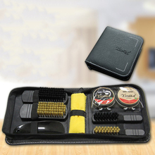 Buy 8pcs Shoe Care Kit Polish Brush Cleaning Set for Leather Shoes Boots In Bag directly from merchant!